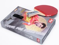 Wholesale DHS double happiness star A6006 A6002 table tennis rackets DHS stars ping pong paddles