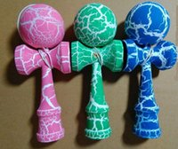 antique japanese paintings - 2015 Full Crack Kendama Sword Jade Fully Painted Kendama Ball Japanese Traditional Wooden Toy