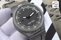 best titanium watch - Super Clone New Brand Luxury Classic P PVD Titanium steel Automatic Gents Watches Brand Mens Watch Rubber Strap Best Watch AAA PD06
