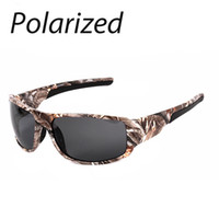 acrylic outdoor glasses - New Popular Polarized Sunglasses Men Cool Camouflage Frame Outdoor Driver Sport Polarization UV400 Sun Glasses Fishing Goggle High Quality