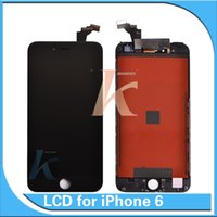 Wholesale AAA Quality iPhone LCD Display With Touch Screen Digitizer Complete Front Screen For IPhone NO DEAD PIXELS Free DHL