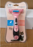Wholesale 1PCS New Short Hair Expert deShedding Edge Hair Tool For Cats Pet Hair Tool Small Cat Hair Remover BMT SC S