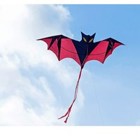Wholesale New Toys Flying Kites cm Huge Bat Kite Without String And Handle Outdoor fun Sports Toys