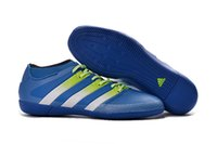 ace boxes - Adidas Originals ACE PureControl INdoor Men Soccer Shoes Boots Slip On Cheap Original Performance Ace Cleats Football Sneakers