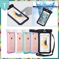 apple iphone problem - For iPhone7 Samsung case universal waterproof underwater allows operate iPhone transparent TPU soft no problem several colors for choices