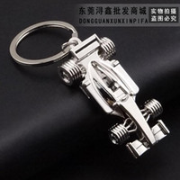 american car models - The explosion models of European and American fashion new Vintage Car Keychain Key Ring bag car accessories factory