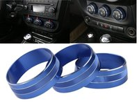 Wholesale Blue Interior Air Condition Outlet Vent Switch Cover Trim for Jeep Wrangler Compass