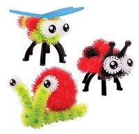 400pcs / Niños del partido del art aprendizaje La educación juega bloques huecos DIY Conectar Mega Paquete 1kit y Bug Paquete para creación de recargas para mascotas Craft Toy Bundle