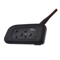 Wholesale Wireless Bluetooth Motorcycle Intercom Headphone VENTPHONE V4 BT Multi Interphone Helmet Headset Communicator Riders Moto