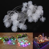 Wholesale New M LED Multi color Pine Cone Fairy String Light Waterproof For Christmas Decoration EU Plug