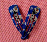 bb clips - Frozen Children Hair Accessories Baby Hair Clip Anna Elsa Princess Hairpin Ornament BB Clamp Hair Clips Childrens Hairclips Baby Barrettes