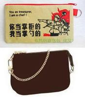 accessoires bags - DAMIER MINI POCHETTE ACCESSOIRES ebene N58009 azur N58010 or COTTON WALLET