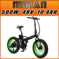 folding bikes - PRE SALE Addmotor MOTAN Complete Bike M Sport Green FOLDING Fat tire E Bike W V AH quot Electric Bicycle