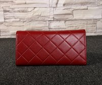 Wholesale retail famous designers brand women wallet purse PU leather caviar pattern clutch famous AAA Quality wallet