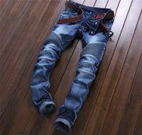 american purple - BALMAIN jeans men hot mens designer jeans famous brand balmain jeans men distressed jeans ripped denim JN01