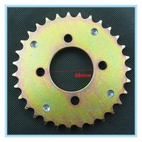 atv axles - teeth mm Axle ATV Quads rear sprocket with magnet point for speedmeter ATV Pignon Factory Directly