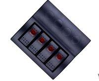 Wholesale Rocker Switch Panel With LED Indicators Auto Fuses AF Gang Car Boat V V