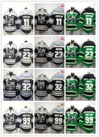 angeles kid - Stitched Los Angeles Kings Hoody Kopitar Brown Quick Gretzky Hockey Kids and men Green Black Jerseys Ice Jersey Mix Order