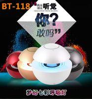 audio control sounds - Mini BT Touch Control Bluetooth Speaker Surround Stereo Speaker Multi Color LED Hands free Speaker Mini Speaker For Cellphone