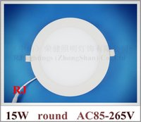 Wholesale ultra thin round LED panel light lamp LED ceiling light W SMD W led high bright CE ROHS approved