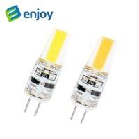 Wholesale 10PCS LED G4 Lamp Bulb AC DC V V W COB SMD LED Lighting Lights replace Halogen Spotlight Chandelier