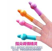 Виноватых Отзывы-Последние встроенные вибрации пениса палец наборы силикагеля G точки набор взрослых может гибко стимулировать секс-игрушки