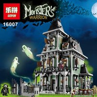 Wholesale New LEPIN Monster fighter The haunted house Model set Building Kits Model Minifigure Compatible With Legoed