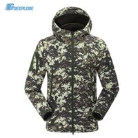 Wholesale Dropshipping new Brand Autumn Winter Jackets Sport Outdoor Climing Hiking Windbreaker Coat windstopper softshell jacket for mens