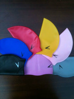 Wholesale Multicolor silicone adult swimming caplatex adult swimming cap latex hat