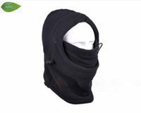 bib fish - TH01 Black Warm Full Face Cover Winter Ski Mask Beanie Hat Scarf Fishing Hat