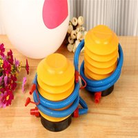 balloon foot pump - Balloon Pump Air Inflator Foot Pumps Christmas Party Wedding Supplies Plastic Inflators Kids Toys Balloon Accessaries