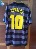 Wholesale Retro Final Jersey Ronaldo Short Sleeves Inter