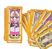 Wholesale Retail Japan Anime Cardcaptor Sakura Magic Cards Cartoon Cosplay Mahou Clow Playing Game Prop Card Sakura Card Captor Cardcaptor Sakura