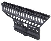 ak rifle accessories - Airsoft Tactical Quick Release CNC AK Rifle mm Standard Weaver Rail Military Hunting Paintball Metal Rifle Accessory Rail