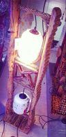 bamboo flooring direct - Factory direct Diao Chan ceramic floor lamp bamboo lamp