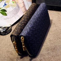 arrow wallets - New Arrival Arrow Long Wallet Korean Lady Pu Printing Hand Bag Women s Fashion Purse Female s Small Handbag