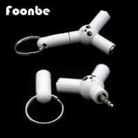 audio cable splitters - FOONBE New Y Type Jack mm To Dual mm Headphone Male To Female Audio Cables Splitter Adapter Plug Stereo Earphone Splitters