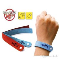 Wholesale 2015 HOT Mosquito Repellent Band Bracelets Anti Mosquito Pure Natural Baby Wristband Hand Ring Free DHL FedEx