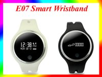Wholesale E07 Smart Wristband Waterproof Passometer Fitness Tracker Bluetooth Sports Bracelet For Iphone i6S iphone