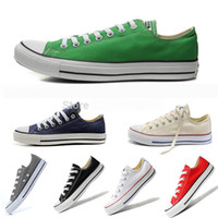 Wholesale with box Retail High quality New Low High Style Canvas Shoes Casual star for women and men size