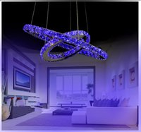 Wholesale New LED W K9 Crystal Chandeliers Modern Contemporary Traditional Classic LED Electroplated Metal Size cm v