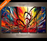 bedroom color meanings - Colorful canvas painting for bedroom fashion picture of color meaning oil painting on canvas art for cafe room decoration