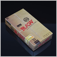 Wholesale 24 booklets box cigarette rolling paper machine hemp size mm mm leaves booklet smoking papers Natural Paper Size