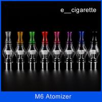 anti oxidation - Electronic cigarette M6 Clearomizer Anti oxidation ml Cartomizer for Electronic Cigarette M6 Atomizer Clearomizer Wax M6 Atomizer DHL