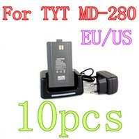 Wholesale New Black Original Desktop TYT Radio Desktop Charger fit for TYT MD