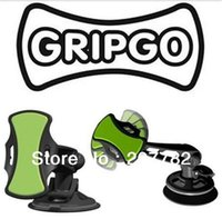 Wholesale 50PCS DROP SHIPPING NEW GripGo Mount grip go hands free mobile cell phone GPS car holder Universal