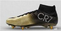 best high top shoes - Best football shoes men s CR7 CR501 boots new Ronaldo cr7 soccer boots superflys football boots high tops soccer cleats shoes ci