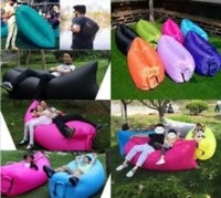 Wholesale Easy to use Lazy Sleeping Bags Air Bed Sofa Festival Camp Holiday Travel Bed Bean Inflatable