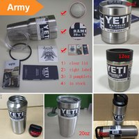 beer wall - Yeti oz Rambler Stainless Steel Cups Large Capacit YETI Rambler Tumbler Cup Vehicle Beer Mug Double Wall Bilayer Vacuum