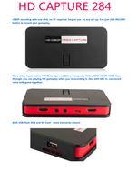 Wholesale EZCAP284 HDMI Game Capture HD Video Capture P Resolution With Remote Control D3473A